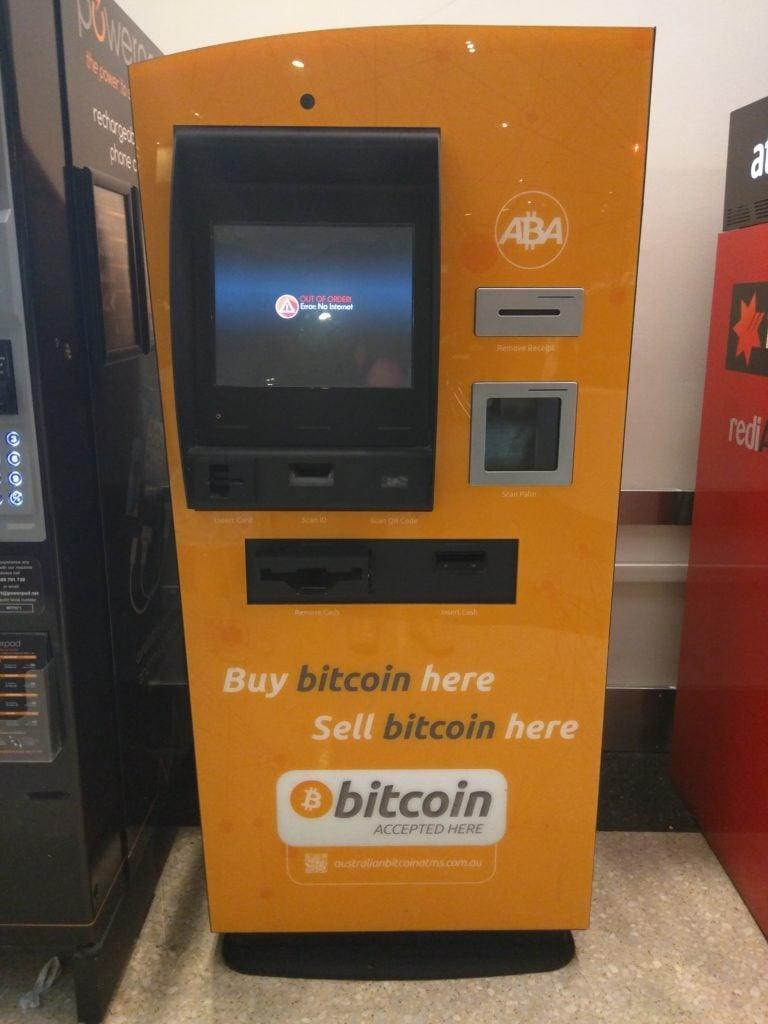 Bitcoin bankomat