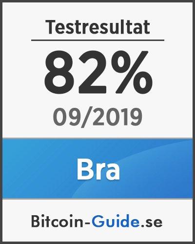 Testresultat Trezor ONE