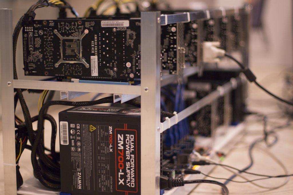 Bitcoin mining med ASIC