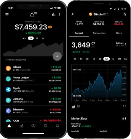 Delta mobilapp bitcoin kurs BTC
