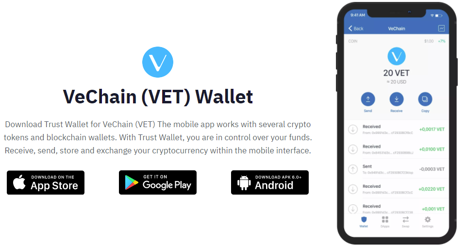 VeChain wallet