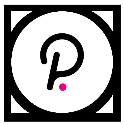 Polkadot DOT logo
